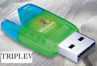 Bootable flash disk